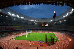 Jerarquía olímpica del pájaro del estadio de Pekín Foto de archivo