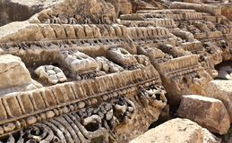 Jerash, Ιορδανία Στοκ φωτογραφία με δικαίωμα ελεύθερης χρήσης