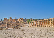 jerash ρωμαϊκές καταστροφές της Ιορδανίας Στοκ φωτογραφίες με δικαίωμα ελεύθερης χρήσης