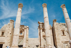 Jerash Royalty Free Stock Photography
