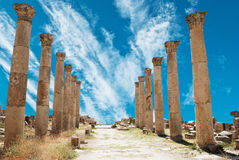 Jerash Stock Afbeeldingen