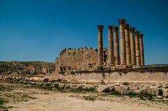 Jerash Arkivfoto