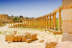 Jerash 4 Stock Photography