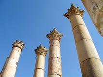Jerash foto de archivo libre de regalías