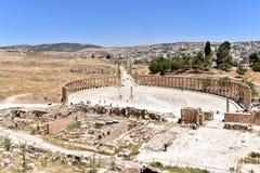 Jerash Arkivbilder