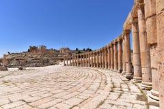 Jerash Arkivfoton