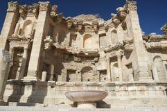 Jerash - alte Stadt Stockbild