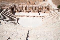 jerash amphitheatre римское Стоковые Фотографии RF