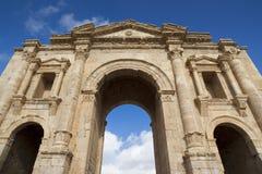 Jerash antico nel Giordano Fotografie Stock Libere da Diritti
