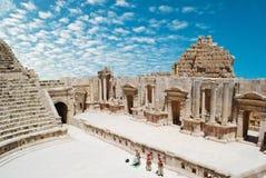 Jerash antigo Fotografia de Stock Royalty Free