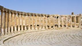 Jerash antigo, Jordânia Fotografia de Stock Royalty Free