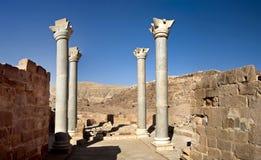 Jerash de roman oude stad in Petra Stock Fotografie