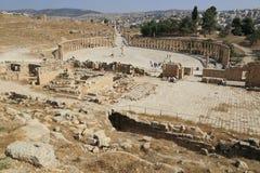 Jerash en Jordania Imagen de archivo libre de regalías