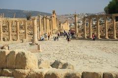 Jerash en Jordanie Photo stock