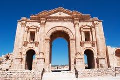 Jerash, Gerasa древности, провинции Jerash, Джордана, Ближний Востока Стоковая Фотография RF