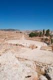 Jerash, Gerasa древности, провинции Jerash, Джордана, Ближний Востока Стоковое фото RF