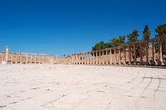 Jerash, Gerasa древности, провинции Jerash, Джордана, Ближний Востока Стоковые Фото