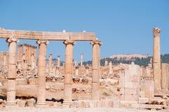Jerash Gerasa dawność, Jerash Governorate, Jordania, Środkowy Wschód Zdjęcia Stock