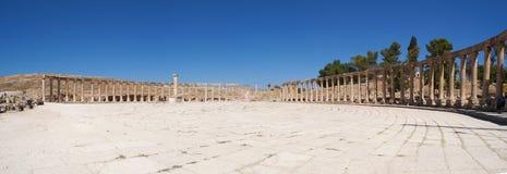 Jerash Gerasa dawność, Jerash Governorate, Jordania, Środkowy Wschód Obraz Stock