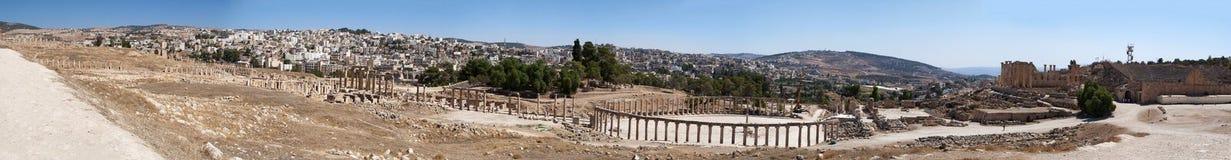 Jerash Gerasa dawność, Jerash Governorate, Jordania, Środkowy Wschód Zdjęcia Royalty Free