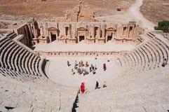 Jerash Gerasa dawność, Jerash Governorate, Jordania, Środkowy Wschód Fotografia Stock