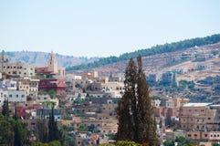Jerash Gerasa dawność, Jerash Governorate, Jordania, Środkowy Wschód Fotografia Royalty Free
