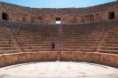 Jerash Gerasaen av forntid, Jerash Governorate, Jordanien, Mellanösten Arkivbild