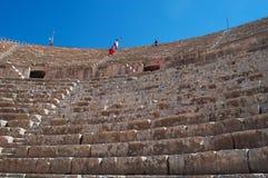 Jerash Gerasaen av forntid, Jerash Governorate, Jordanien, Mellanösten Royaltyfria Bilder