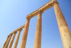 Jerash in Giordania fotografia stock libera da diritti
