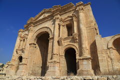 Jerash in Giordania Immagini Stock