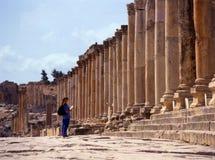 Jerash, Giordano. Fotografia Stock