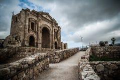 Jerash, Giordano Immagine Stock