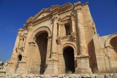 Jerash i Jordanien Arkivbilder