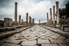 Jerash, Jordão Imagem de Stock Royalty Free