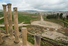 Jerash, Jordão Foto de Stock Royalty Free