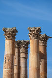 Jerash, Jordan, temple of artemis Royalty Free Stock Photography
