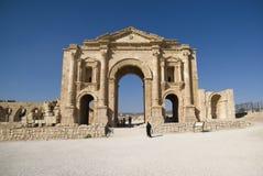 Jerash, Jordan. Triumphal Arch Royalty Free Stock Image