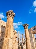Jerash, Jordanië Stock Foto's