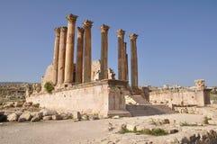 Jerash, Jordanie Photos libres de droits