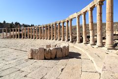 Jerash, Jordanie images stock
