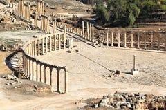 Jerash Jordanien Royaltyfri Bild