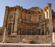 Jerash - old city Royalty Free Stock Photos