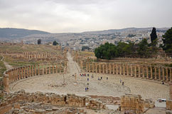 Jerash Overview Stock Photography