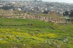 Jerash ruine - Amman - la Jordanie Image libre de droits