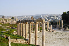 Jerash ruine - Amman - la Jordanie Photo stock