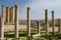 Jerash ruine - Amman - la Jordanie Photos libres de droits