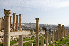 Jerash ruine - Amman - la Jordanie Images libres de droits