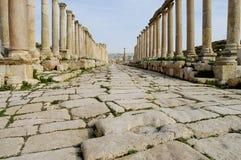 Jerash ruine - Amman - la Jordanie Photographie stock libre de droits