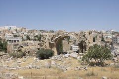 Jerash runis in Jordan Stock Photo