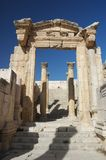 Jerash - temple of Artemis Royalty Free Stock Photography